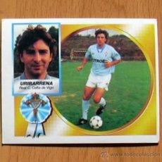 Cromos de Fútbol: CELTA - URIBARRENA - COLOCA - EDICIONES ESTE 1994-1995, 94-95 - CROMO NUNCA PEGADO. Lote 50703629