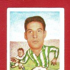 Cromos de Fútbol: FÚTBOL CAMPEONATO 1958-1959 - GRÁFICAS EXCELSIOR - REAL BETIS - 1 CROMO. Lote 36592911
