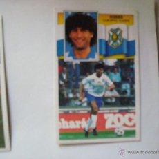 Cromos de Fútbol: TENERIFE HIERRO EDICIONES ESTE 1990-1991 90-91 SIN PEGAR. Lote 41044789