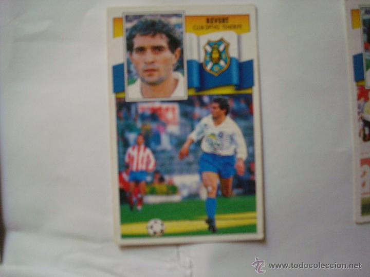 TENERIFE REVERT EDICIONES ESTE 1990-1991 90-91 SIN PEGAR (Coleccionismo Deportivo - Álbumes y Cromos de Deportes - Cromos de Fútbol)