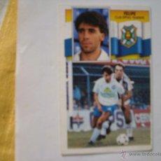 Cromos de Fútbol: TENERIFE FELIPE EDICIONES ESTE 1990-1991 90-91 SIN PEGAR. Lote 45465898