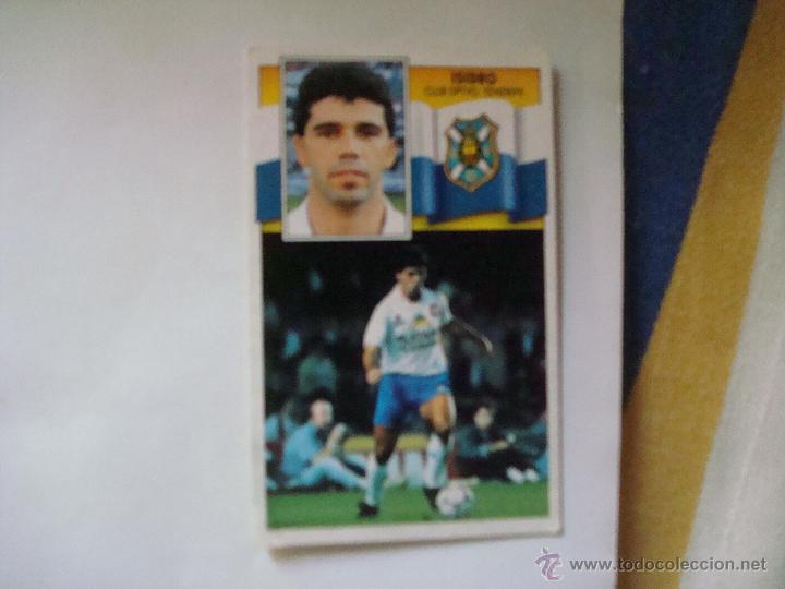 TENERIFE ISIDRO EDICIONES ESTE 1990-1991 90-91 SIN PEGAR (Coleccionismo Deportivo - Álbumes y Cromos de Deportes - Cromos de Fútbol)