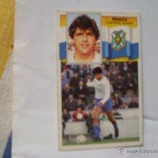 Cromos de Fútbol: TENERIFE FRANCIS EDICIONES ESTE 1990-1991 90-91 SIN PEGAR. Lote 41044968