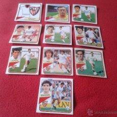 Cromos de Fútbol: LOTE DE 10 CROMOS DE SEVILLA FUTBOL CLUB LIGA 89 90 1989 1990 EDICIONES ESTE NUNCA PEGADOS COLECCION. Lote 41057539