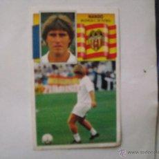 Cromos de Fútbol: VALENCIA NANDO EDICIONES ESTE 1990-1991 90-91 SIN PEGAR. Lote 41082699