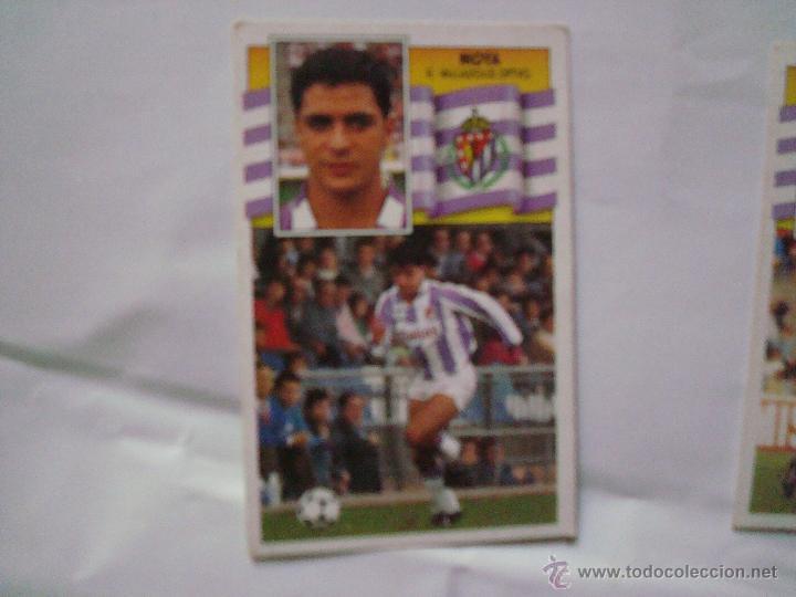 R.VALLADOLID MOYA EDICIONES ESTE 1990-1991 90-91 SIN PEGAR (Coleccionismo Deportivo - Álbumes y Cromos de Deportes - Cromos de Fútbol)