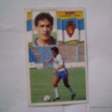 Cromos de Fútbol: ZARAGOZA GLARIA EDICIONES ESTE 1990-1991 90-91SIN PEGAR. Lote 41088355