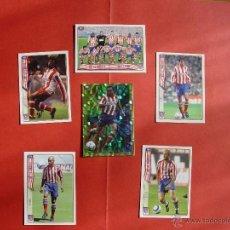 Cromos de Fútbol: LOTE 6 CROMOS AT. MADRID: PLANTILLA, HIMNO, PEREA, SERGI, MUSAMPA... (MUNDICROMO; LFP, 2004-05). Lote 41102509