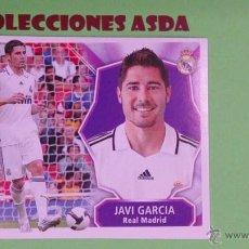 Cromos de Fútbol: LIGA ESTE 2008 2009 COLOCA - JAVI GARCIA ( REAL MADRID ) ESTE 08 09 NUNCA PEGADO. Lote 235853345
