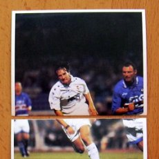 Cartes à collectionner de Football: REAL MADRID - MAGIC BOX 1995 - 200-201 ALFONSO - NUNCA PEGADO. Lote 41438858