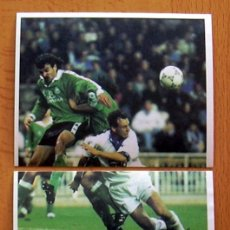 Cartes à collectionner de Football: REAL MADRID - MAGIC BOX 1995 - 197-198 ALFONSO - NUNCA PEGADO. Lote 41438878