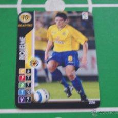 Cromos de Fútbol: CROMO CARD DE FUTBOL,RIQUELME DEL VILLARREAL C.F.,Nº226,LIGA DERBY TOTAL 2004-205/04-05. Lote 255926480