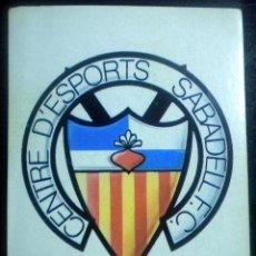 Cromos de Fútbol: EDICIONES ESTE 87-88 ESCUDO SABADELL 87/88. Lote 41461034