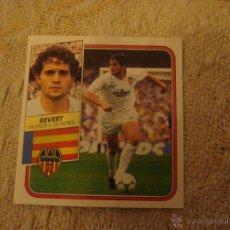 Cromos de Fútbol: 89-90 ESTE. REVERT. BAJA VALENCIA.. Lote 41496334