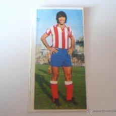 Cromos de Fútbol: PANADERO DÍAZ – AT.MADRID (COLECCIÓN ESTE 75/76) DIFÍCIL. Lote 41564098