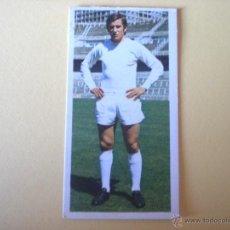 Cromos de Fútbol: MACANAS – R.MADRID (COLECCIÓN ESTE 75/76) DIFÍCIL. Lote 41564215