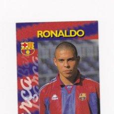 Cromos de Fútbol: 20 RONALDO (FC BARCELONA) - CROMO COLECCION OFICIAL FC BARCELONA PANINI 96-97 1996 1997. Lote 147632785