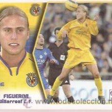Cromos de Fútbol: ED. ESTE, LIGA 2005-2006, VILLARREAL C.F., FIGUEROA. Lote 41731789