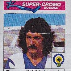 Cromos de Fútbol: CROMO FUTBOL SUPER CROMO BOOMER MEGIDO HERCULES . Lote 41846601
