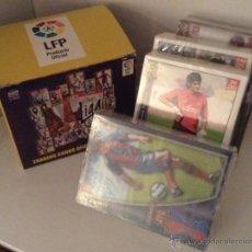 Cromos de Fútbol: CAJA CON PAQUETES SIN ABRIR DE LAS FICHAS DE LA LIGA 2005 2006 DIARIO AS TRADING CARDS OFICIALES. Lote 153319022