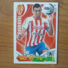 Cromos de Fútbol: ADRENALYN LIGA 2011 2012 PANINI Nº 305 DAVID BARRAL (SPORTING GIJON) - CROMO FUTBOL . Lote 42093590