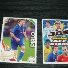 Cromos de Fútbol: -CROMO JAS JUGON ALL STARS : PIRLO ( ITALIA ). Lote 42232227