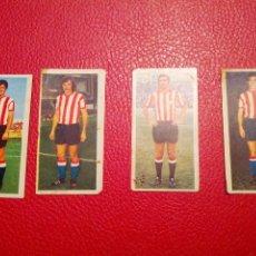 Cromos de Fútbol: ESTE 75/76, ATHLETIC BILBAO ROJO, LASA, CARLOS, MARTIN. Lote 42243583