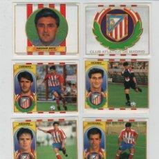 Cromos de Fútbol: ESTE 96-97 CLUB ATLETICO DE MADRID.. Lote 42332354