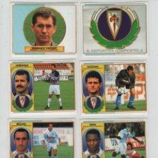 Cromos de Fútbol: ESTE 96-97 SOCIEDAD DPTVA.COMPOSTELA.. Lote 42334452