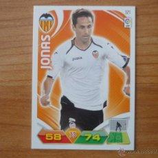 Cromos de Fútbol: ADRENALYN LIGA 2011 2012 PANINI Nº 321 JONAS (VALENCIA) - CROMO FUTBOL . Lote 95077034