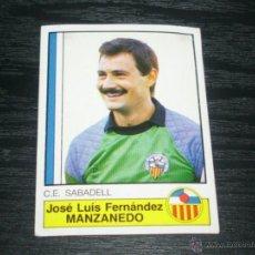 Cromos de Fútbol: PANINI FUTBOL 87 : 226 MANZANEDO ( SABADELL ) . Lote 42352048