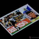 Cromos de Fútbol: BUYO REAL MADRID CF, FICHAJE 3, ALBUM LIGA FÚTBOL ESTE 86 87, 1986 1987. SIN PEGAR.. Lote 145659754