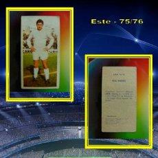 Cromos de Fútbol - CROMO URIA REAL MADRID EDICIONES ESTE 75 76 1975 1976 NUNCA PEGADO - 42525158