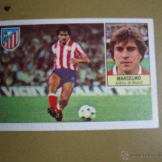 Cromos de Fútbol: ESTE 84 85 1984 1985 MARCELINO ATLETICO MADRID NUNCA PEGADO. Lote 28494169