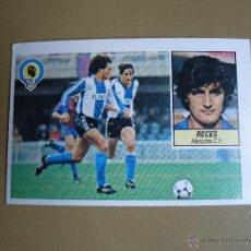Cromos de Fútbol: ESTE 84-85 1984 1985 RECES HERCULES NUNCA PEGADO. Lote 28439733