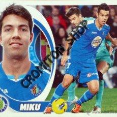 Cromos de Fútbol: GETAFE Nº 16 MIKU - LIGA BBVA 12 13 2012 2013 EDICIONES ESTE PANINI. Lote 42558552