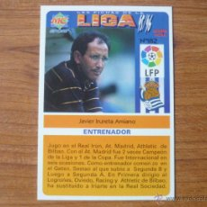 Cromos de Fútbol: MUNDICROMO FICHAS LIGA 95/96 Nº 182 UH IRURETA (REAL SOCIEDAD) VERSIÓN SPORT – FUTBOL 1995 / 1996 . Lote 46684645