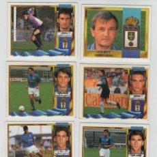 Cromos de Fútbol: ESTE 95-96 REAL OVIEDO CLUB DE FUTBOL.. Lote 42615464