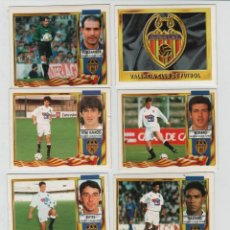 Cromos de Fútbol: ESTE 95-96 VALENCIA CLUB DE FUTBOL.. Lote 42618078
