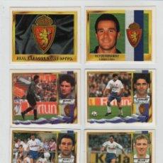 Cromos de Fútbol: ESTE 95-96 REAL ZARAGOZA CLUB DEPORTIVO.. Lote 42619895