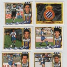Cromos de Fútbol: ESTE 95-96 REAL CLUB DEPORTIVO ESPANYOL DE BARCELONA.. Lote 42627932