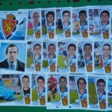 Cromos de Fútbol: LIGA 2004/2005 - ESTE - R.ZARAGOZA ( EQUIPO COMPLETO). Lote 42758569