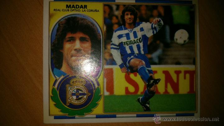 FICHAJE Nº5 MADAR ( DEPORTIVO ). NUEVO ESTE. TEMP 1996/1997 96/97 (Coleccionismo Deportivo - Álbumes y Cromos de Deportes - Cromos de Fútbol)