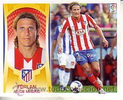 ESTE 2009 2010 - Nº 15 FORLAN - ATLETICO MADRID - NUEVO DE SOBRE (Coleccionismo Deportivo - Álbumes y Cromos de Deportes - Cromos de Fútbol)