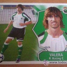 Cromos de Fútbol: LIGA FUTBOL ESTE 2008 2009 08 09 ULTIMO FICHAJE Nº 56 VALERA RACING DE SANTANDER - 2008/09 08/09 -. Lote 42866147