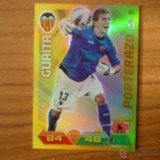 Cromos de Fútbol: ADRENALYN LIGA 2011 2012 PANINI Nº 385 GUAITA (VALENCIA) PORTERAZO - CROMO FUTBOL. Lote 42872506
