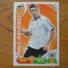 Cromos de Fútbol: ADRENALYN LIGA 2011 2012 PANINI Nº 320 PABLO HERNANDEZ (VALENCIA) - CROMO FUTBOL . Lote 42886317