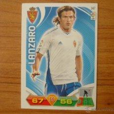 Cromos de Fútbol: ADRENALYN LIGA 2011 2012 PANINI Nº 347 LANZARO (ZARAGOZA) - CROMO FUTBOL . Lote 44179155