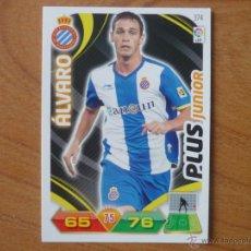 Cromos de Fútbol: ADRENALYN LIGA 2011 2012 PANINI Nº 374 ALVARO (ESPANYOL) PLUS JUNIOR - CROMO FUTBOL. Lote 128443088