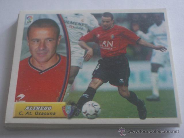 ALFREDO - C.AT. OSASUNA - LIGA 2003 - 2004 03 04 - COLECCIONES ESTE PANINI - SIN PEGAR (Coleccionismo Deportivo - Álbumes y Cromos de Deportes - Cromos de Fútbol)